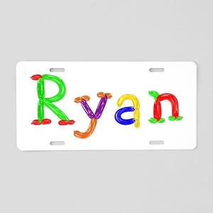 Ryan Balloons Aluminum License Plate
