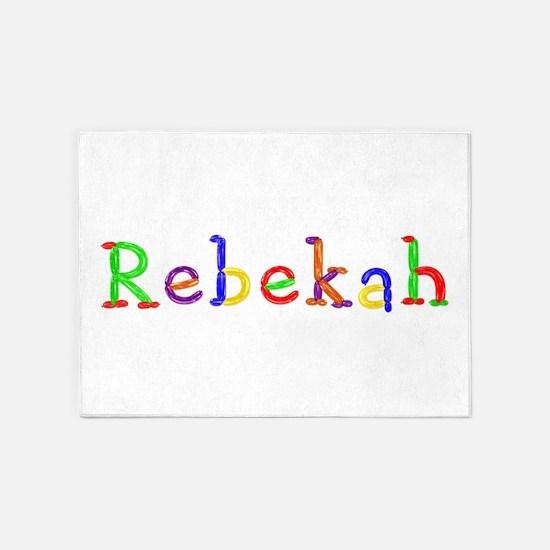 Rebekah Balloons 5'x7' Area Rug