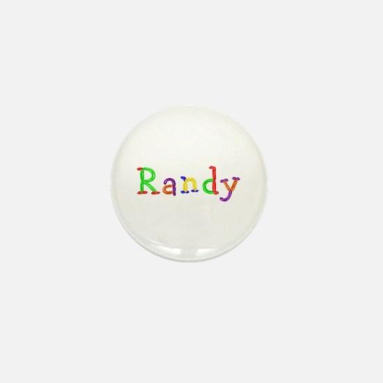 Randy Balloons Mini Button