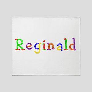 Reginald Balloons Throw Blanket