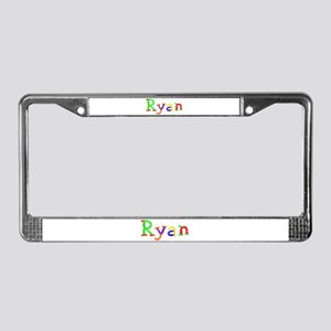 Ryan Balloons License Plate Frame