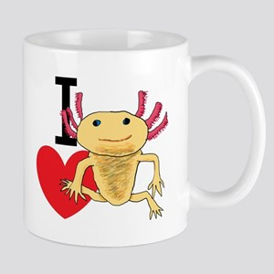 I Love Axolotls Mugs