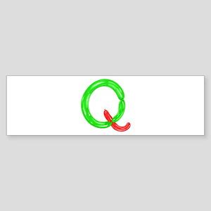 Q Balloons Bumper Sticker