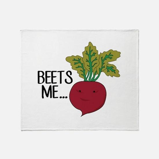 Beets Me... Throw Blanket
