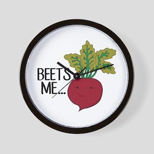 Beets Me... Wall Clock