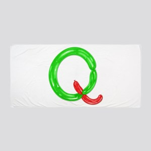 Q Balloons Beach Towel