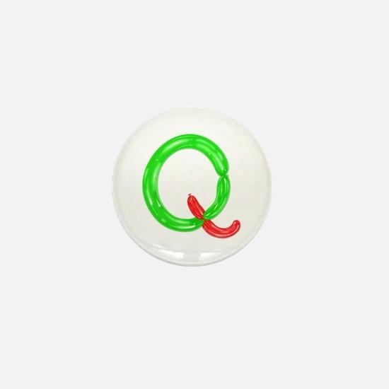 Q Balloons Mini Button