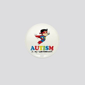 Autism is my superpower! Mini Button