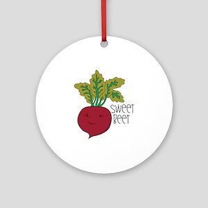 Sweet Beet Ornament (Round)