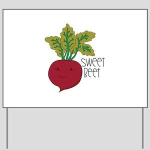 Sweet Beet Yard Sign