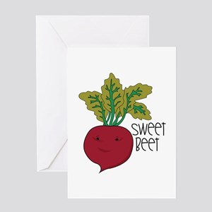 Sweet Beet Greeting Cards