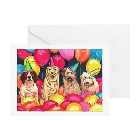 Party Animals Greeting Cards (Pk of 20)