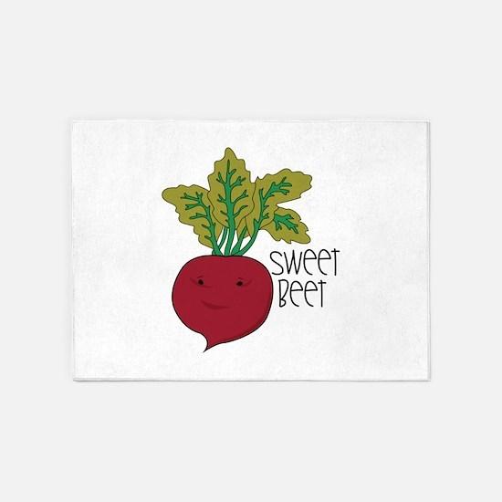 Sweet Beet 5'x7'Area Rug