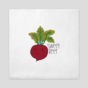 Sweet Beet Queen Duvet