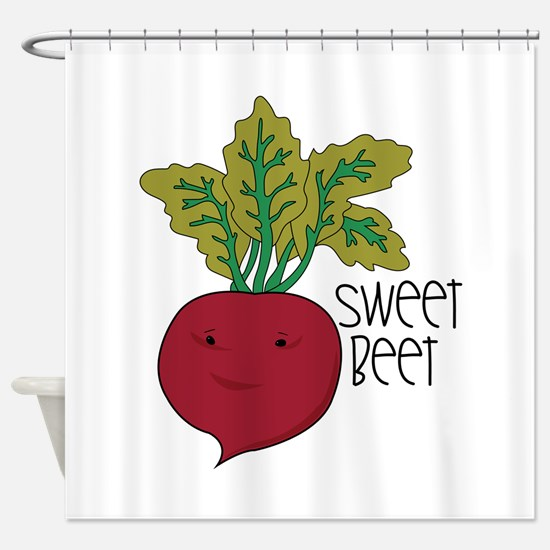 Sweet Beet Shower Curtain