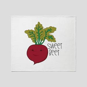 Sweet Beet Throw Blanket