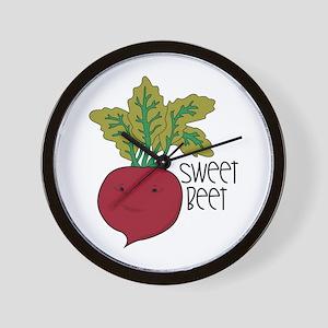 Sweet Beet Wall Clock
