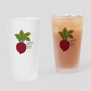 Sweet Beet Drinking Glass