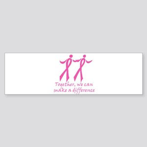 Make a Difference Together Bumper Sticker