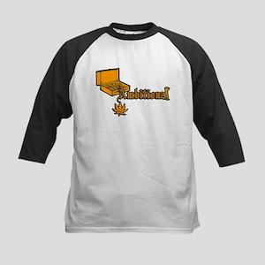 Ambitionz Gold Kids Baseball Jersey