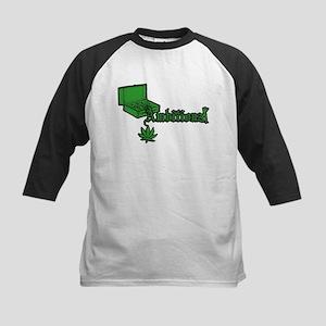 Ambitionz Green Kids Baseball Jersey