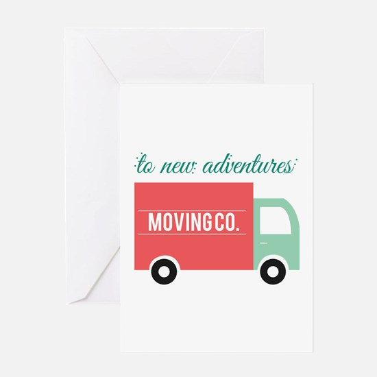 New Adventures Greeting Cards