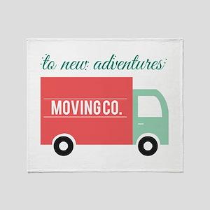 New Adventures Throw Blanket