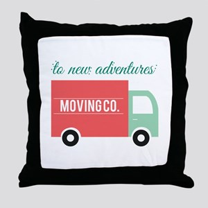 New Adventures Throw Pillow