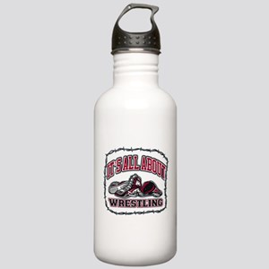 It's All About Wrestli Stainless Water Bottle 1.0L
