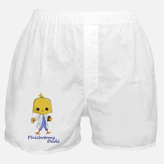 Phlebotomy Dude Boxer Shorts