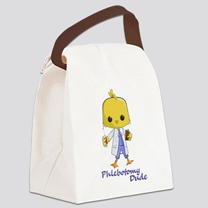 Phlebotomy Dude Canvas Lunch Bag