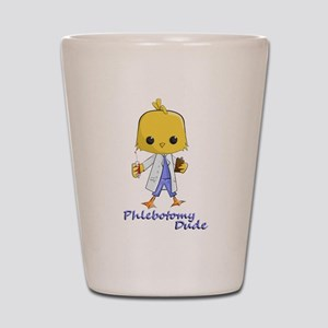 Phlebotomy Dude Shot Glass
