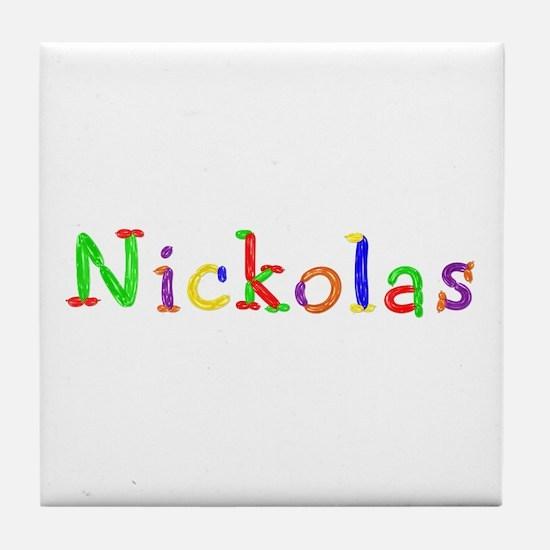 Nickolas Balloons Tile Coaster