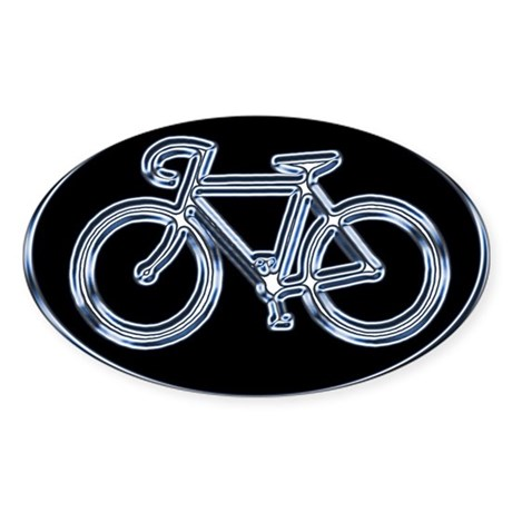 ROAD CYCLING Oval Sticker