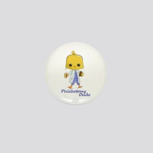 Phlebotomy Dude Mini Button