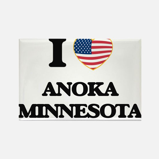 I love Anoka Minnesota Magnets
