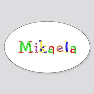 Mikaela Balloons Oval Sticker