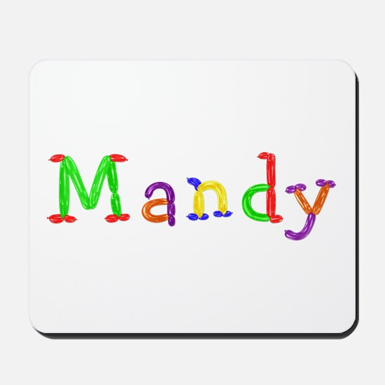 Mandy Balloons Mousepad