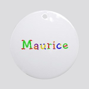 Maurice Balloons Round Ornament