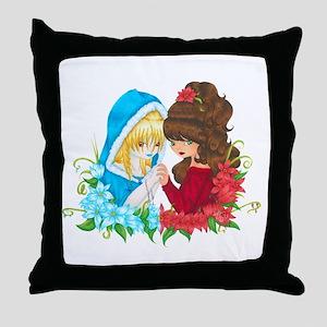Goddesses of Winter Throw Pillow
