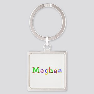 Meghan Balloons Square Keychain