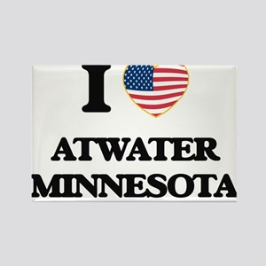 I love Atwater Minnesota Magnets