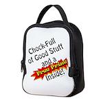 Free Prize Inside Neoprene Lunch Bag