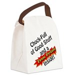Free Prize Inside Canvas Lunch Bag