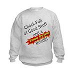 Free Prize Inside Kids Sweatshirt