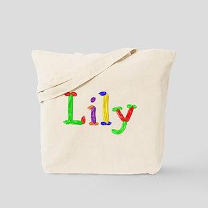 Lily Balloons Tote Bag