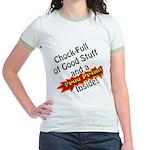 Free Prize Inside Jr. Ringer T-Shirt