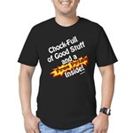 Free Prize Inside Men's Fitted T-Shirt (dark)