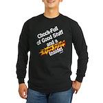 Free Prize Inside Long Sleeve Dark T-Shirt