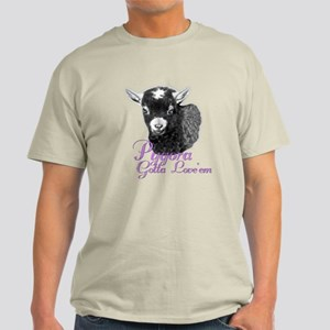 Pygora Goat Gotta Love 'em Light T-Shirt